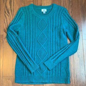 Women's Old Navy Quilted Sweater- Large